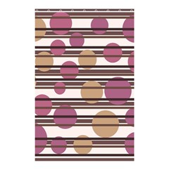 Simple decorative pattern Shower Curtain 48  x 72  (Small)