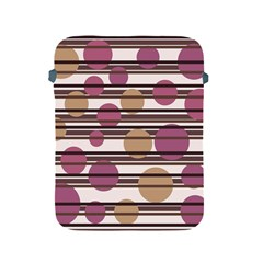 Simple decorative pattern Apple iPad 2/3/4 Protective Soft Cases