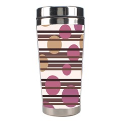 Simple decorative pattern Stainless Steel Travel Tumblers