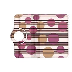 Simple decorative pattern Kindle Fire HD (2013) Flip 360 Case