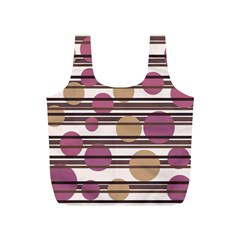 Simple decorative pattern Full Print Recycle Bags (S)