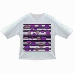 Purple simple pattern Infant/Toddler T-Shirts