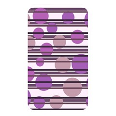 Purple simple pattern Memory Card Reader