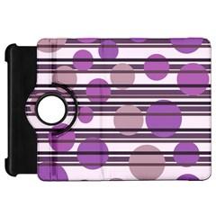 Purple simple pattern Kindle Fire HD 7