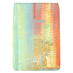Unique abstract in green, blue, orange, gold Flap Covers (S)