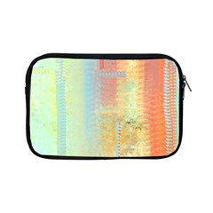 Unique abstract in green, blue, orange, gold Apple iPad Mini Zipper Cases