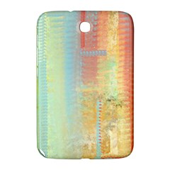 Unique abstract in green, blue, orange, gold Samsung Galaxy Note 8.0 N5100 Hardshell Case
