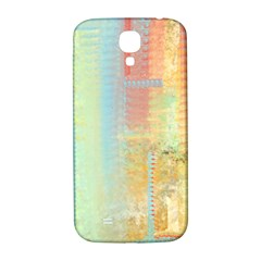 Unique Abstract In Green, Blue, Orange, Gold Samsung Galaxy S4 I9500/i9505  Hardshell Back Case