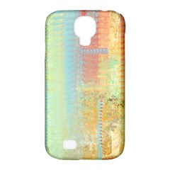 Unique Abstract In Green, Blue, Orange, Gold Samsung Galaxy S4 Classic Hardshell Case (pc+silicone)