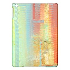 Unique abstract in green, blue, orange, gold iPad Air Hardshell Cases