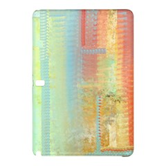 Unique abstract in green, blue, orange, gold Samsung Galaxy Tab Pro 10.1 Hardshell Case