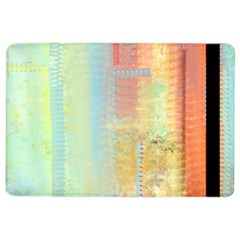 Unique Abstract In Green, Blue, Orange, Gold Ipad Air 2 Flip