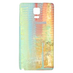Unique Abstract In Green, Blue, Orange, Gold Galaxy Note 4 Back Case