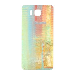 Unique Abstract In Green, Blue, Orange, Gold Samsung Galaxy Alpha Hardshell Back Case