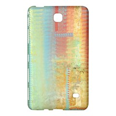 Unique Abstract In Green, Blue, Orange, Gold Samsung Galaxy Tab 4 (7 ) Hardshell Case