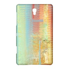 Unique Abstract In Green, Blue, Orange, Gold Samsung Galaxy Tab S (8 4 ) Hardshell Case