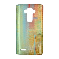 Unique Abstract In Green, Blue, Orange, Gold Lg G4 Hardshell Case