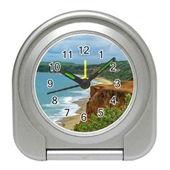 Aerial Seascape Scene Pipa Brazil Travel Alarm Clocks