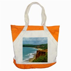 Aerial Seascape Scene Pipa Brazil Accent Tote Bag