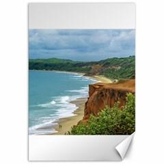 Aerial Seascape Scene Pipa Brazil Canvas 20  x 30