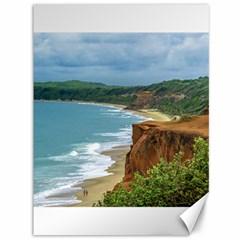 Aerial Seascape Scene Pipa Brazil Canvas 36  x 48