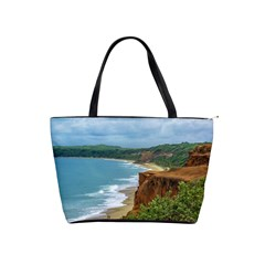 Aerial Seascape Scene Pipa Brazil Shoulder Handbags