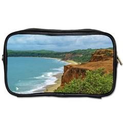 Aerial Seascape Scene Pipa Brazil Toiletries Bags