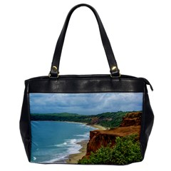 Aerial Seascape Scene Pipa Brazil Office Handbags