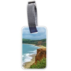 Aerial Seascape Scene Pipa Brazil Luggage Tags (Two Sides)