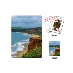 Aerial Seascape Scene Pipa Brazil Playing Cards (Mini)