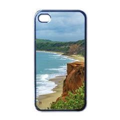 Aerial Seascape Scene Pipa Brazil Apple iPhone 4 Case (Black)