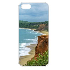 Aerial Seascape Scene Pipa Brazil Apple iPhone 5 Seamless Case (White)