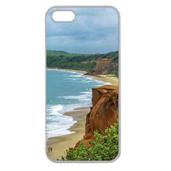 Aerial Seascape Scene Pipa Brazil Apple Seamless iPhone 5 Case (Clear)