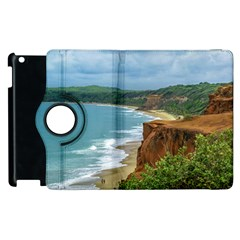 Aerial Seascape Scene Pipa Brazil Apple iPad 2 Flip 360 Case