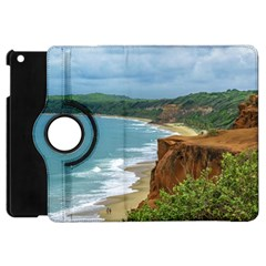 Aerial Seascape Scene Pipa Brazil Apple iPad Mini Flip 360 Case