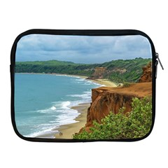 Aerial Seascape Scene Pipa Brazil Apple iPad 2/3/4 Zipper Cases