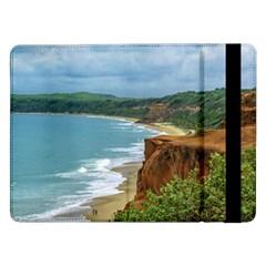 Aerial Seascape Scene Pipa Brazil Samsung Galaxy Tab Pro 12.2  Flip Case