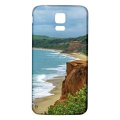 Aerial Seascape Scene Pipa Brazil Samsung Galaxy S5 Back Case (White)