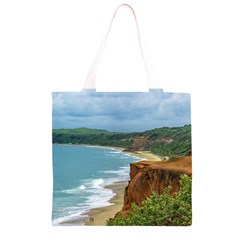 Aerial Seascape Scene Pipa Brazil Grocery Light Tote Bag