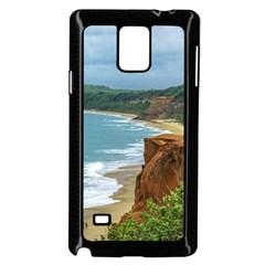 Aerial Seascape Scene Pipa Brazil Samsung Galaxy Note 4 Case (Black)