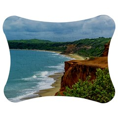 Aerial Seascape Scene Pipa Brazil Jigsaw Puzzle Photo Stand (Bow)