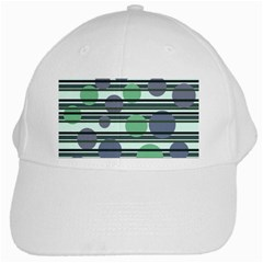 Green simple pattern White Cap