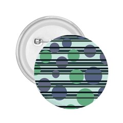 Green simple pattern 2.25  Buttons