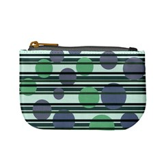 Green simple pattern Mini Coin Purses