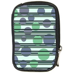 Green simple pattern Compact Camera Cases