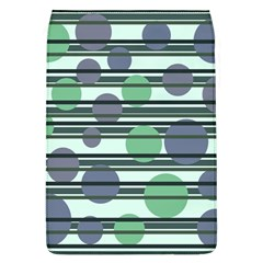 Green simple pattern Flap Covers (L)