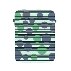Green simple pattern Apple iPad 2/3/4 Protective Soft Cases