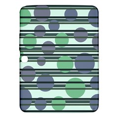 Green simple pattern Samsung Galaxy Tab 3 (10.1 ) P5200 Hardshell Case