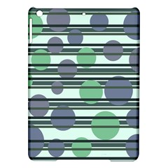 Green simple pattern iPad Air Hardshell Cases