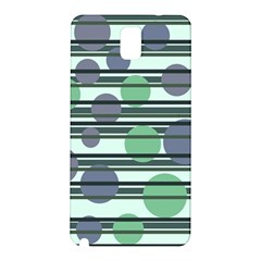 Green simple pattern Samsung Galaxy Note 3 N9005 Hardshell Back Case